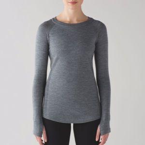 Lululemon Sit In Lotus Sweater Heather Grey